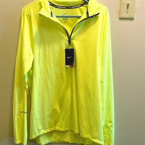 Yellow Nike Quarter Zip